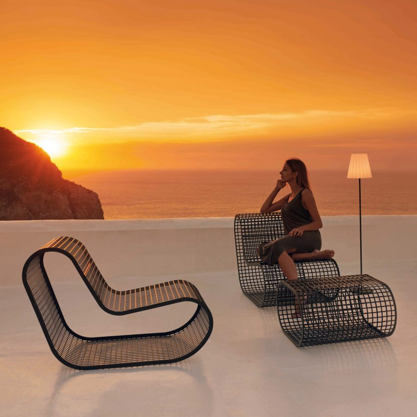 Buit outdoor seating by Mayice Studio for Gandia Blasco