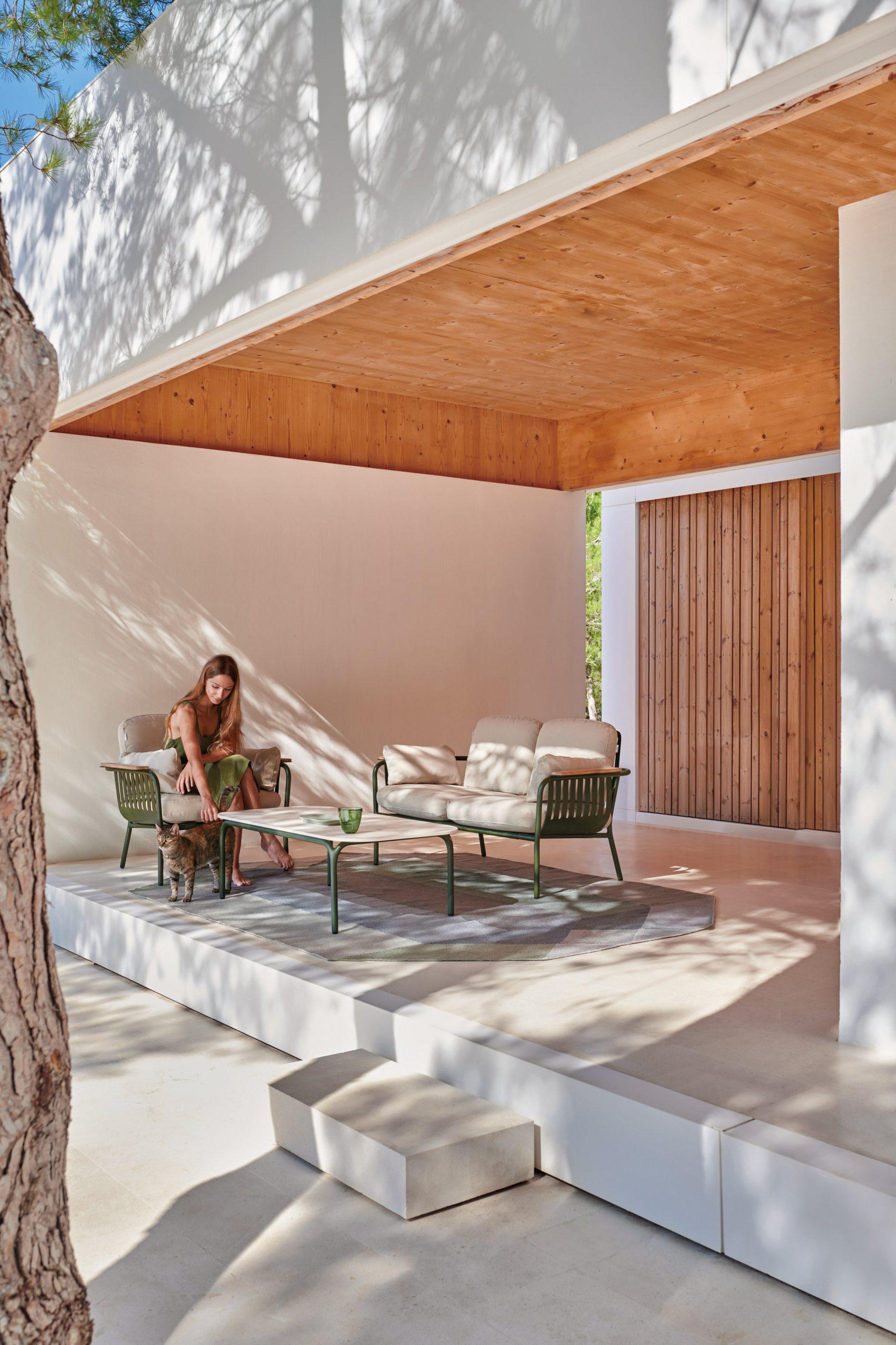 Outdoor furniture by Søren Rose for Gandiablasco