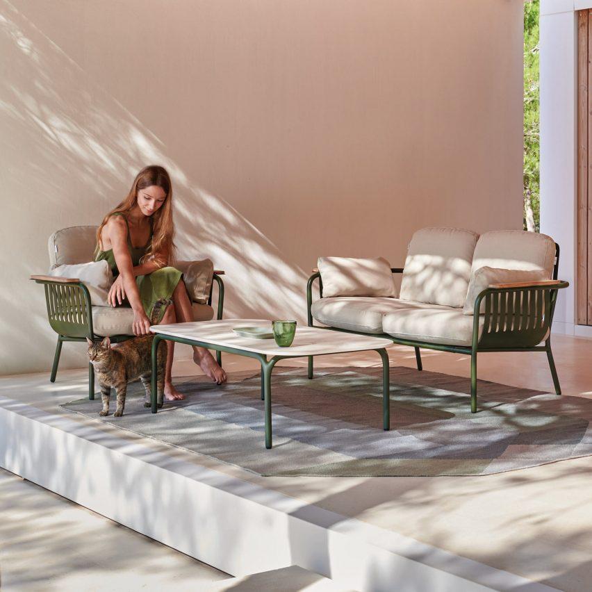Outdoor furniture by Søren Rose for Gandia Blasco