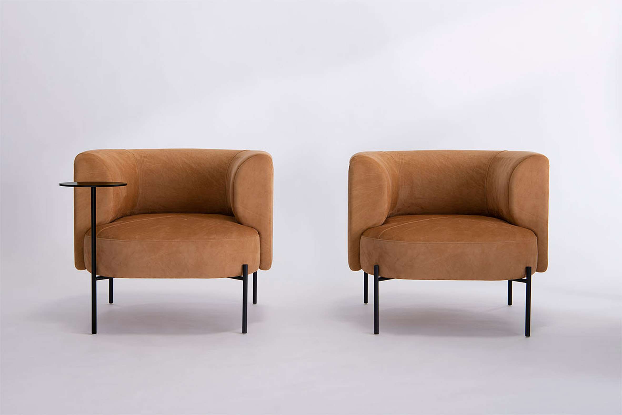 Upholstered chair by Phase Design