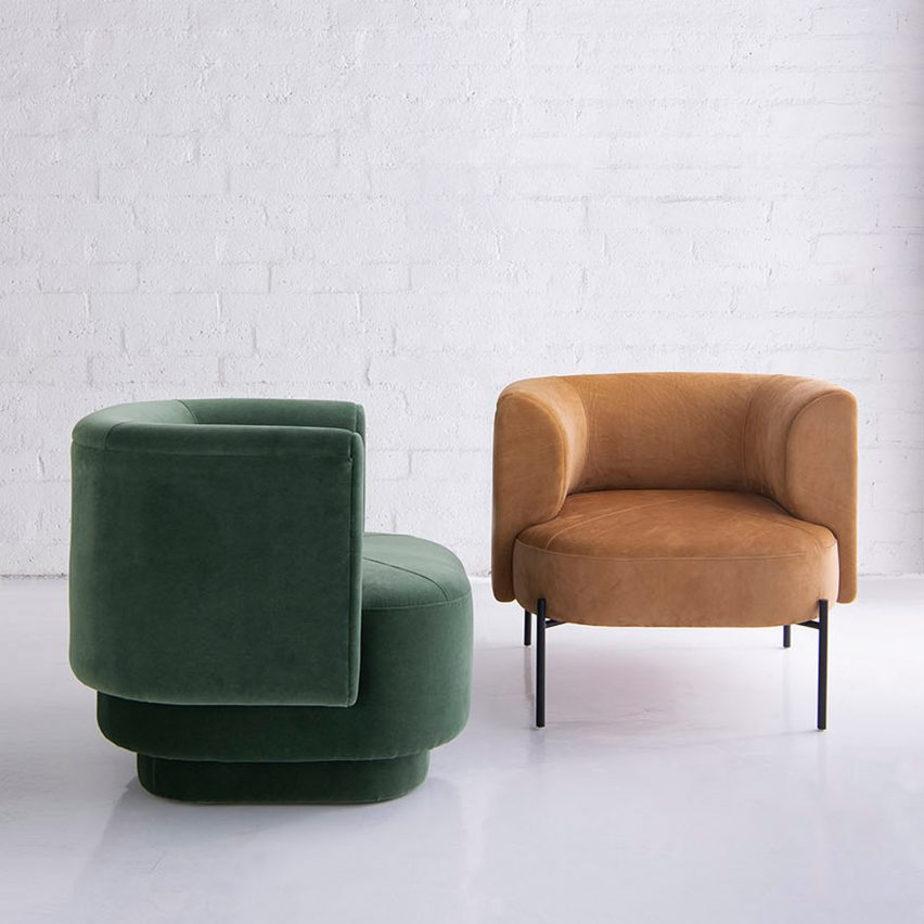 Capper lounge chair by Phase Design via Twentieth