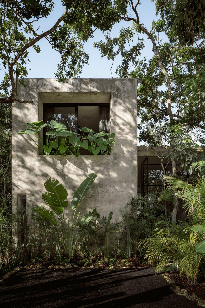 Exterior of Casa Aviv