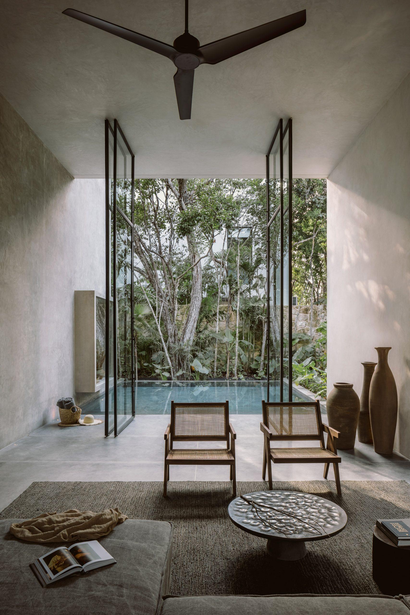 Living room of Casa Aviv by Co-Lab Design Office