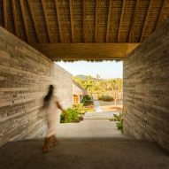 Casa Cova is built to protect from the heat of the sun