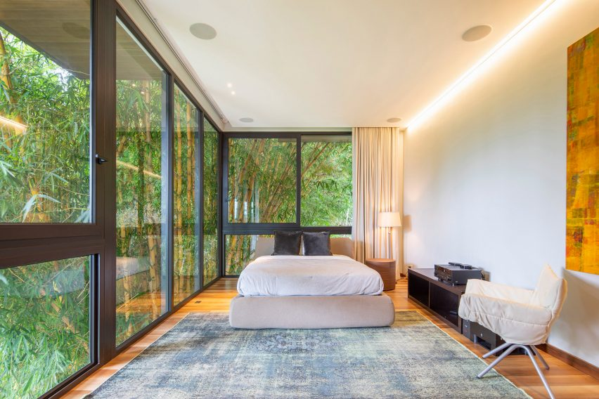 Bedroom of a house in Costa Rica