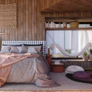 Twin loft: Grão Arquitetura