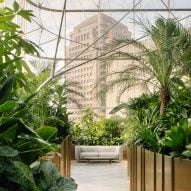 "Ministry of Design creates lush ""banking conservatory"" for Citibank Singapore"