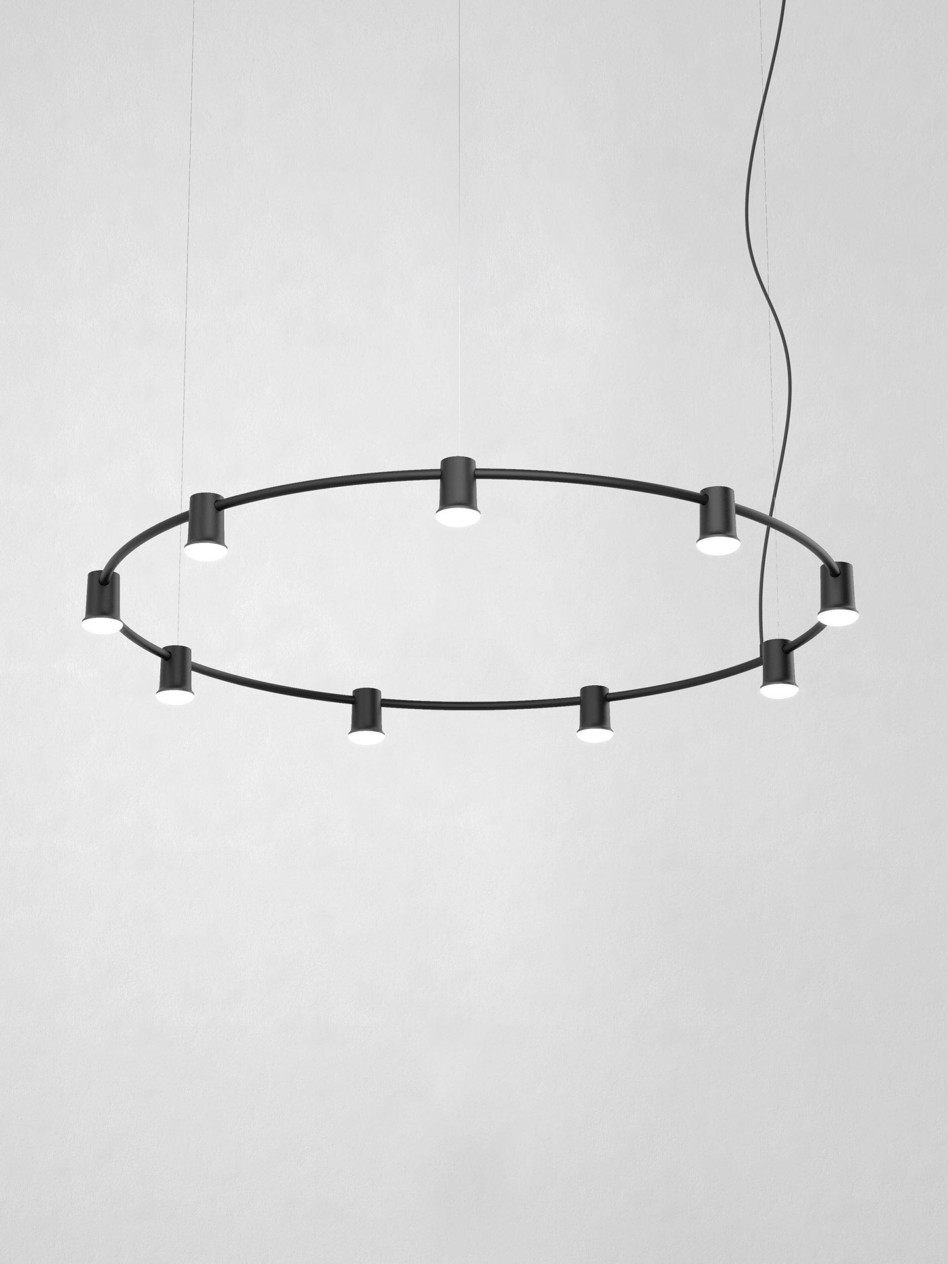 Jens Fager's Compose Rail for Zero Lighting in black