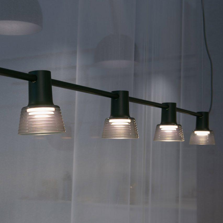 Black Compose Rail by Zero Lighting