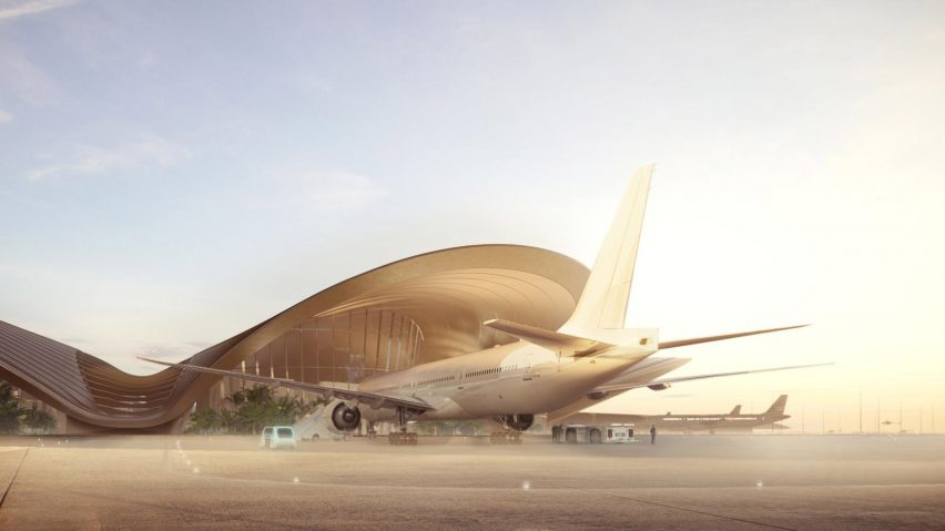 Red Sea International Airport in Saudi Arabia by Foster+ Partners