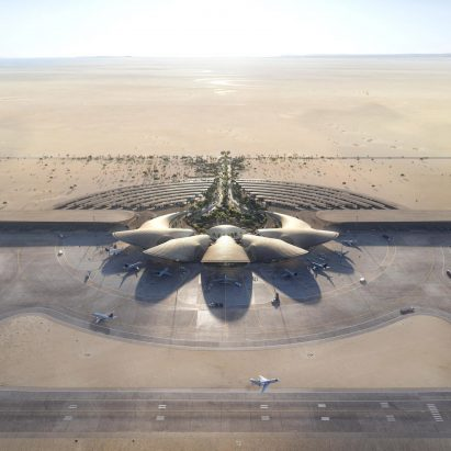 Foster+ Partners Red Sea International Airport in Saudi Arabia