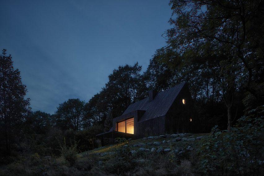 Timber cabin in Czech Republic