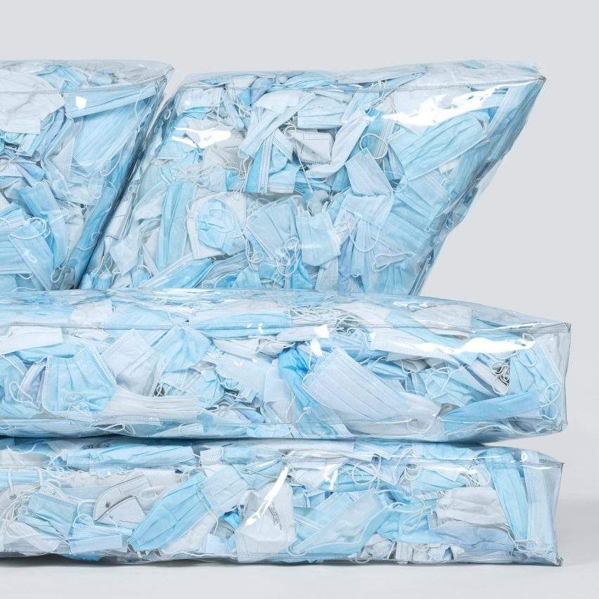 Close-up of Couch-19 by Tobia Zambotti