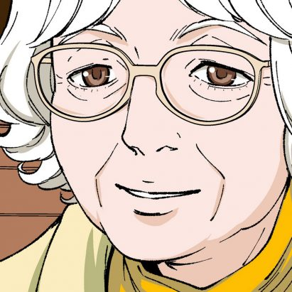 Manga-style picture of Denise Scott Brown