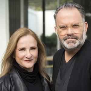 Dezeen Awards 2021 judge Irene Kronenberg and Alon Baranowitz
