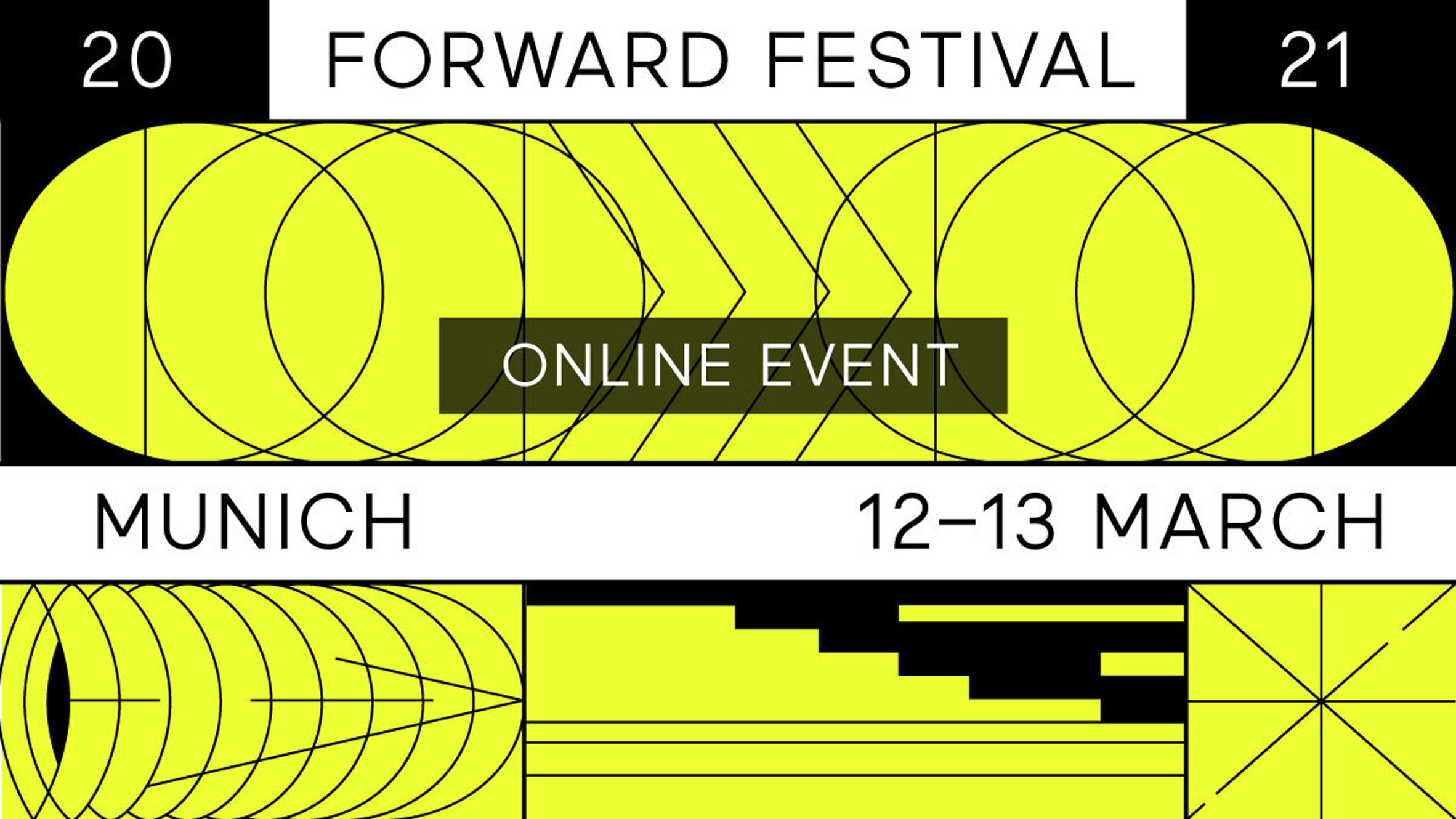Forward Festival Munich as featured in Dezeen Events Guide March roundup