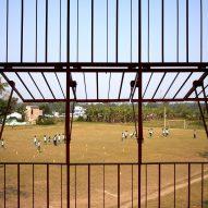 Football Club House in Bansberia, India, by Abin Design Studio
