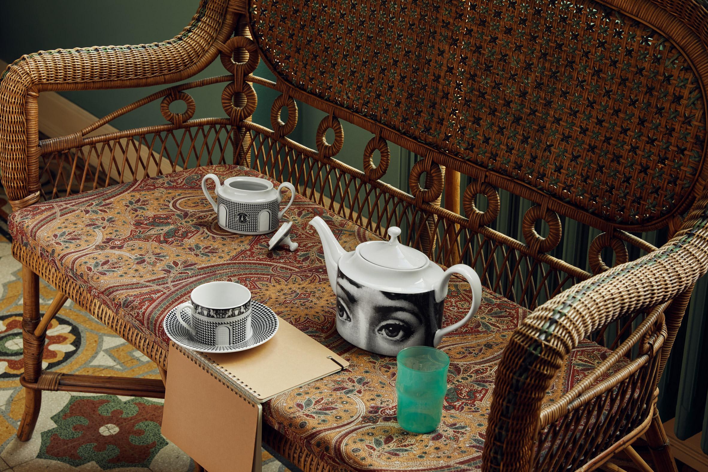 Tea set by Fornasetti