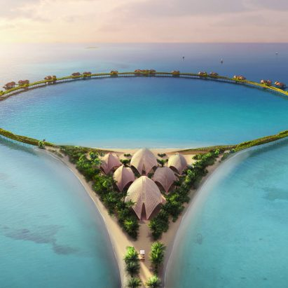 Red Sea Project hotel by Foster + Partners