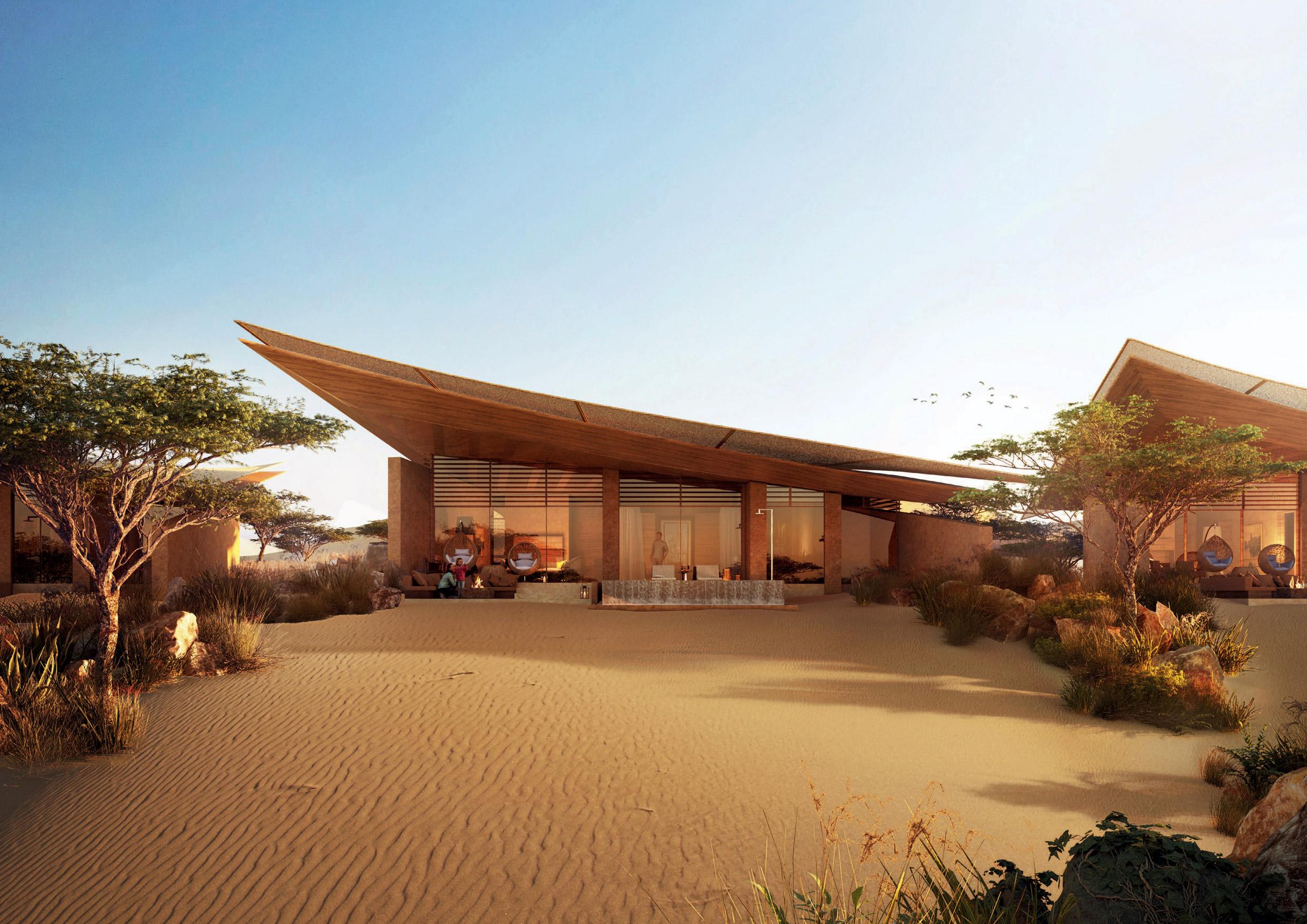 Desert villas