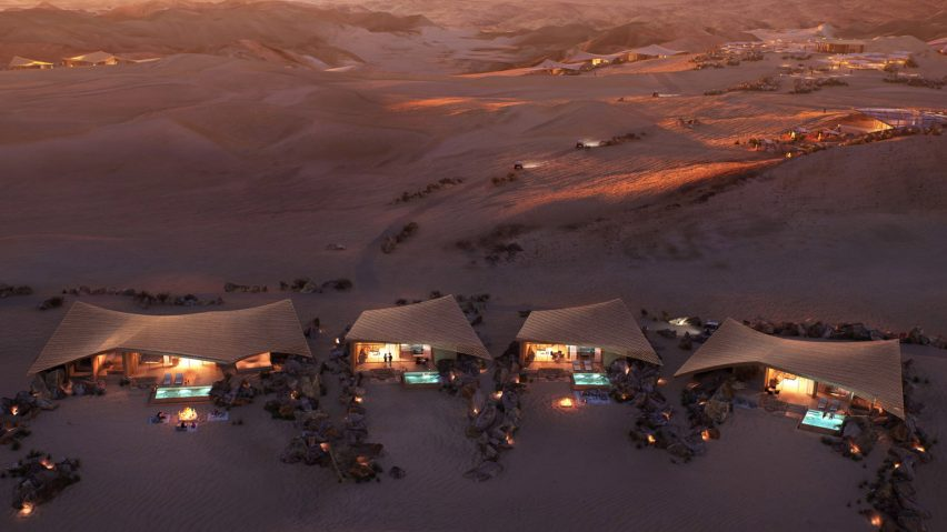 Southern Dunes hotel by Foster + Partners