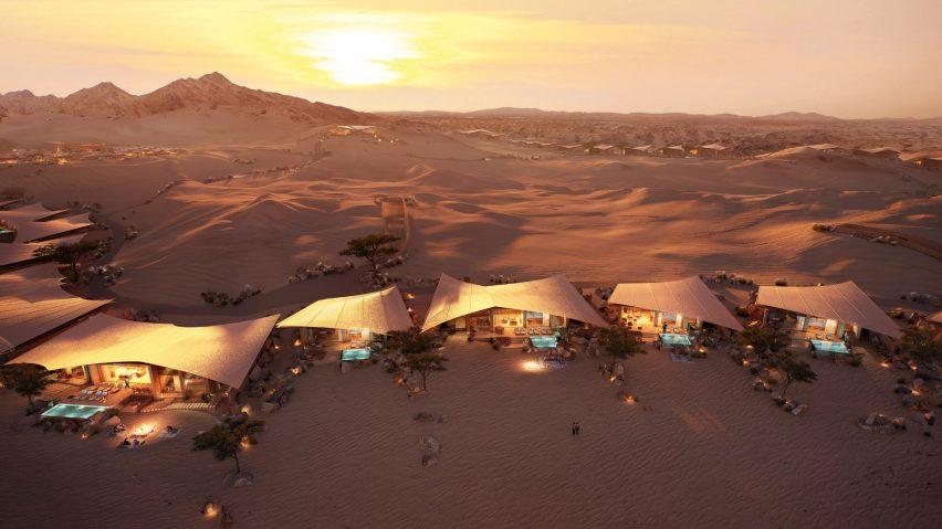 Foster + Partners Saudi resort