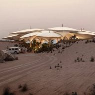 Foster + Partners' hotel to be built amongst Saudi Arabian sand dunes