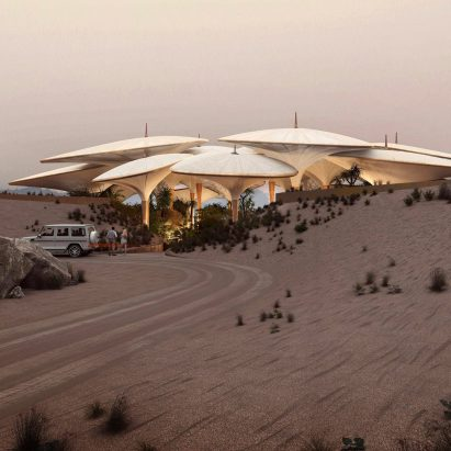 Southern Dunes hotel in Saudi Arabia by Foster + Partners