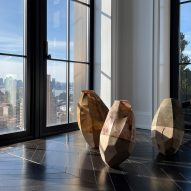 Corps Celeste & Telluric Sculptures by Sylvia Eustache Rools and Jerome Pereira
