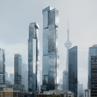 Frank Gehry reveals latest design for pair of skyscraper in Toronto