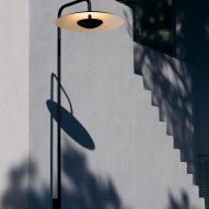 The Ginger lamppost by Joan Gaspar for Marset