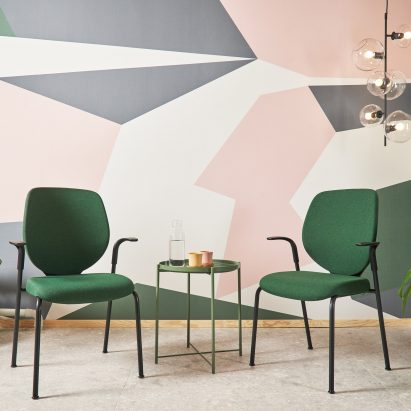 Giroflex 353 chairs by Paolo Fancelli for Flokk