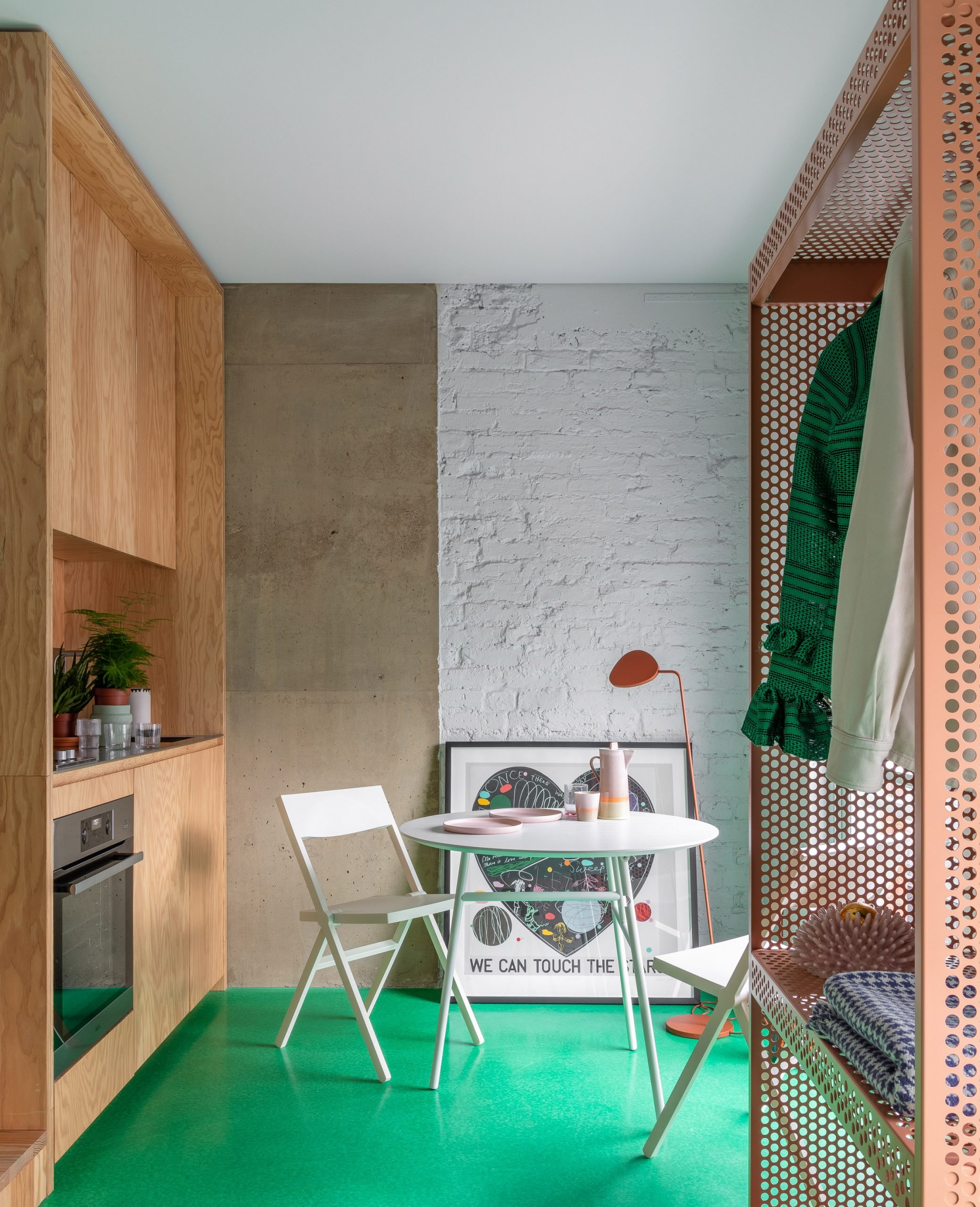Kitchen in High Street House by Noiascape Teatum+Teatum