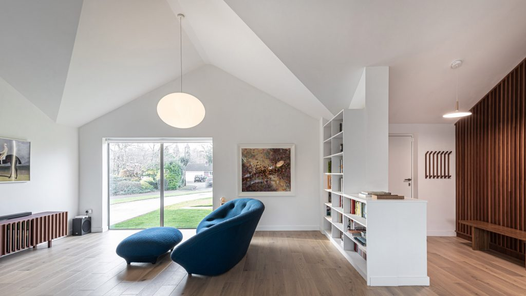 Intervention Architecture transforms 1970s bungalow with open-plan interior