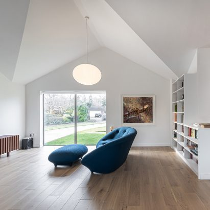 Honey and Walnut House renovated bungalow by Intervention Architecture
