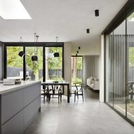 The kitchen of a House in Bearsden by McGinlay Bell