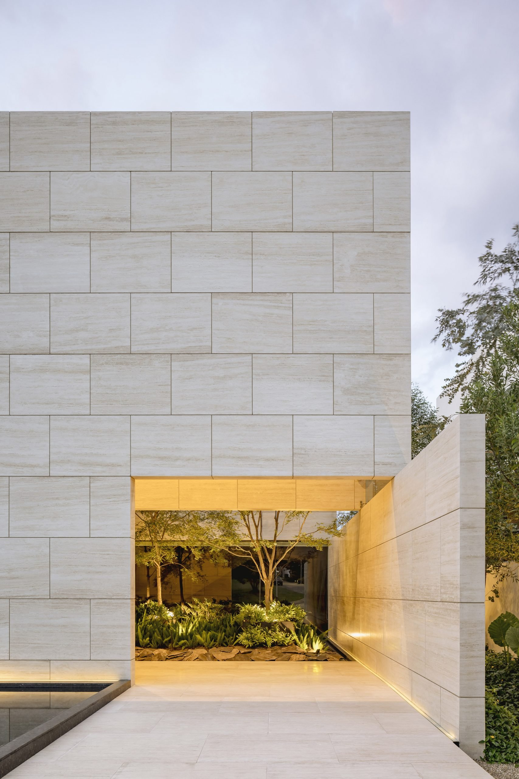 Exterior of Casa ZTG by 1540 Arquitectura