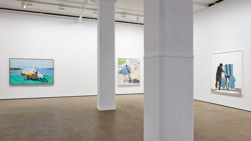 Burdened exhibition by Hugo McCloud at Sean Kelly Gallery