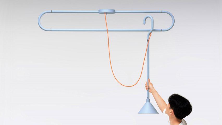 Hook Lamp by Huisu Jo