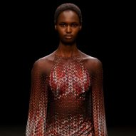 Iris Van Herpen creates haute couture dress from ocean plastic