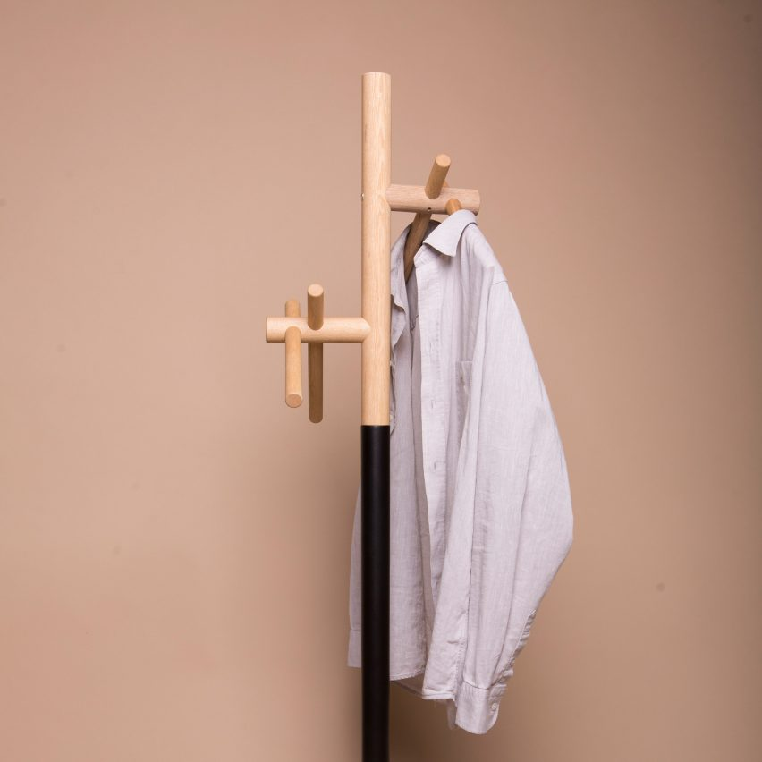 KIT II coat rack by KANAMA for NID