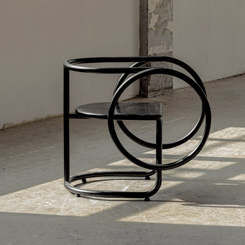 Hoop Chair from the Korean Art Deco collection