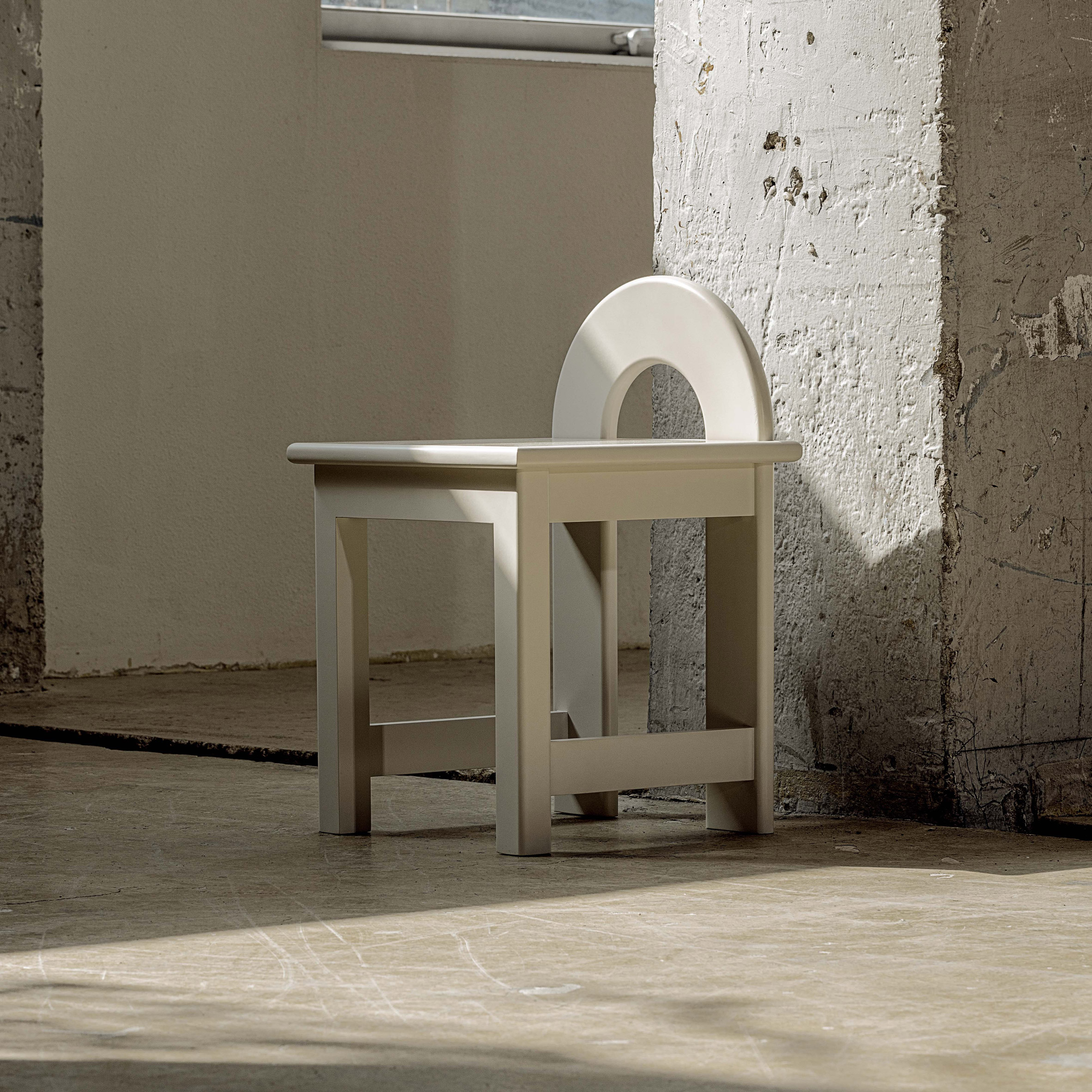 Low U Stool from Korean Art Deco collection by Subin Seoul