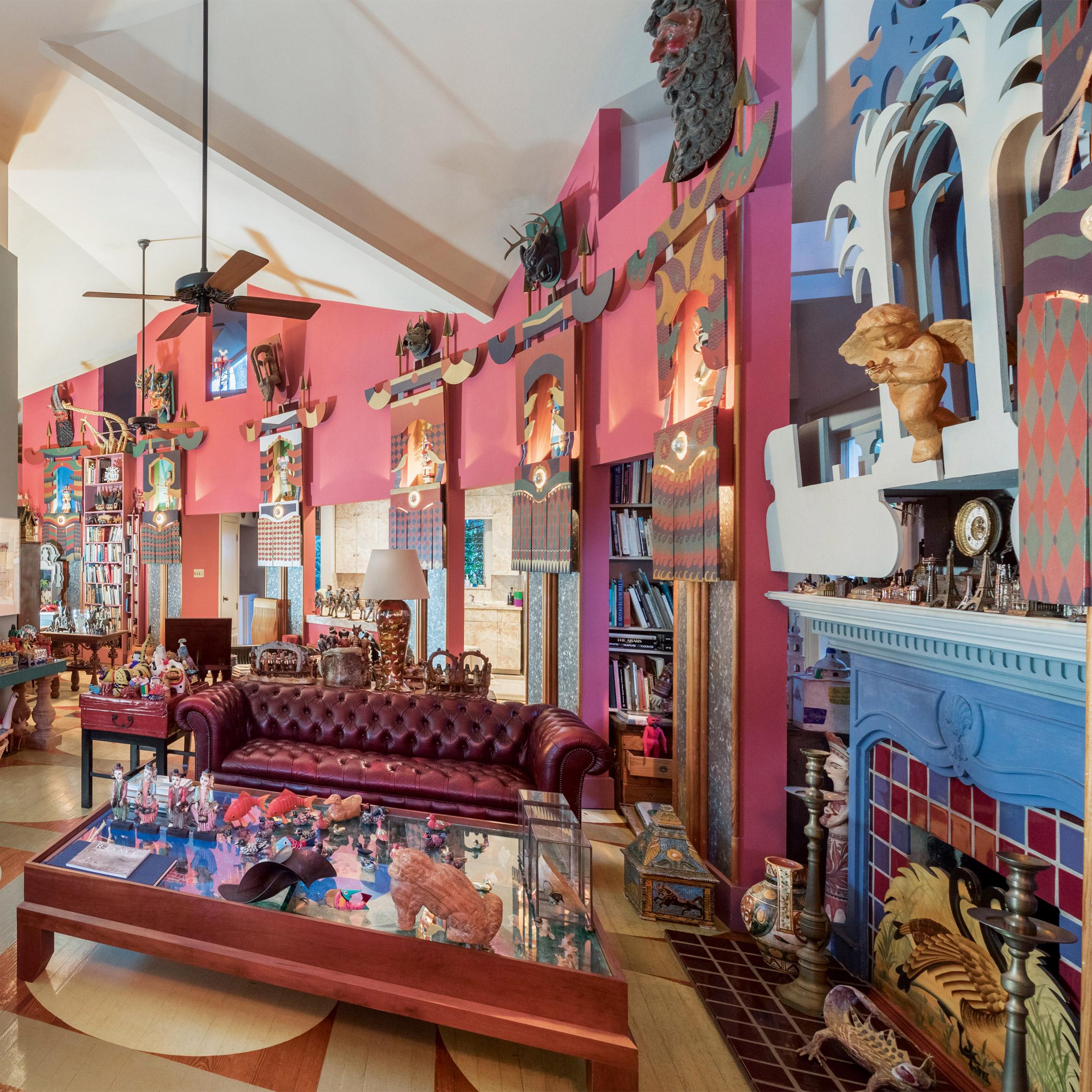 A postmodernist living room