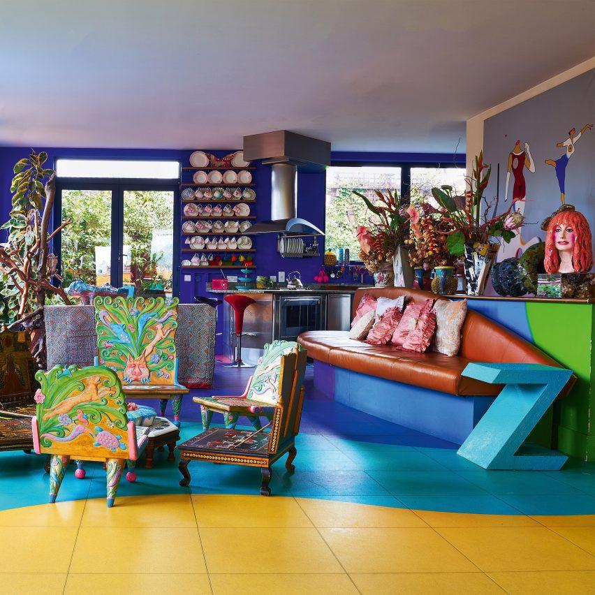 A colour penthouse apartment