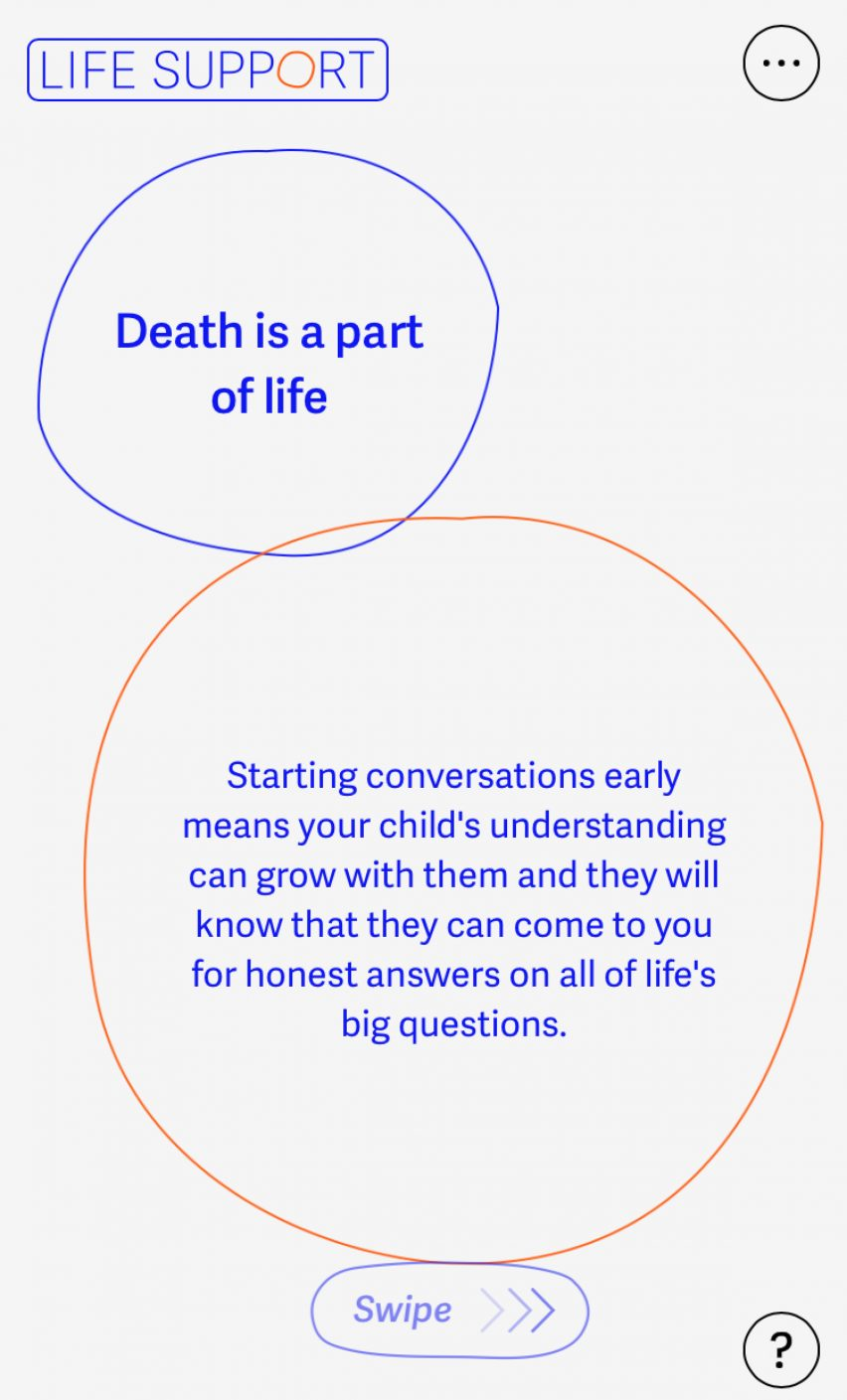 Life Support is a mobile-first digital tool
