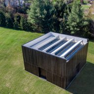 LX Pavilion by OLI Architecture for London Cross by Richard Serra