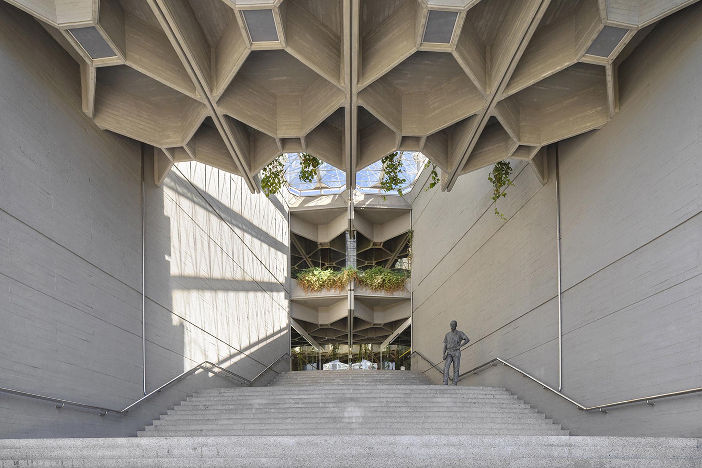 Interior of Instituto del Patrimonio Cultural de España in Madrid