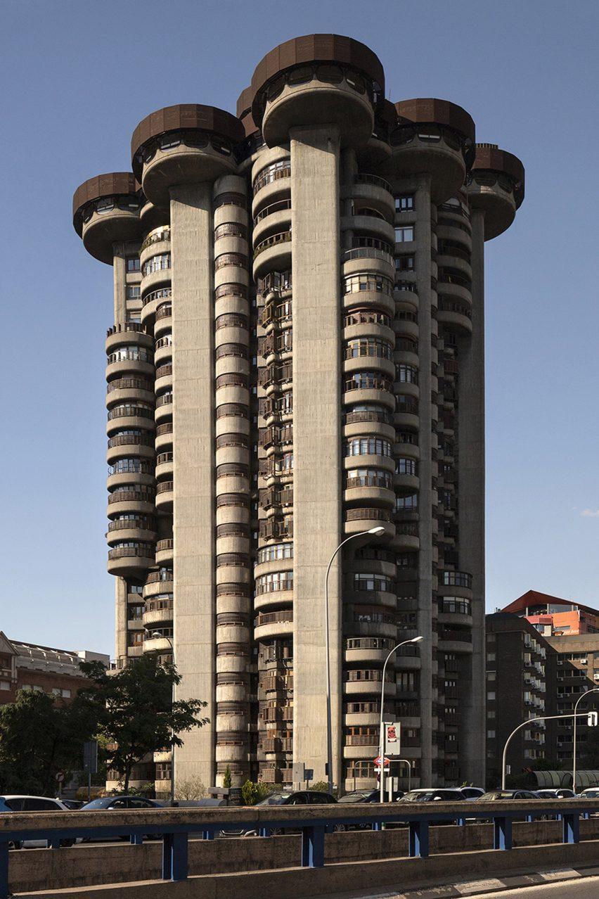 Madrid's brutalist architecture: Torres Blancas