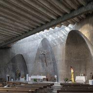 Inside Church of Santa Ana y la Esperanza in Madrid